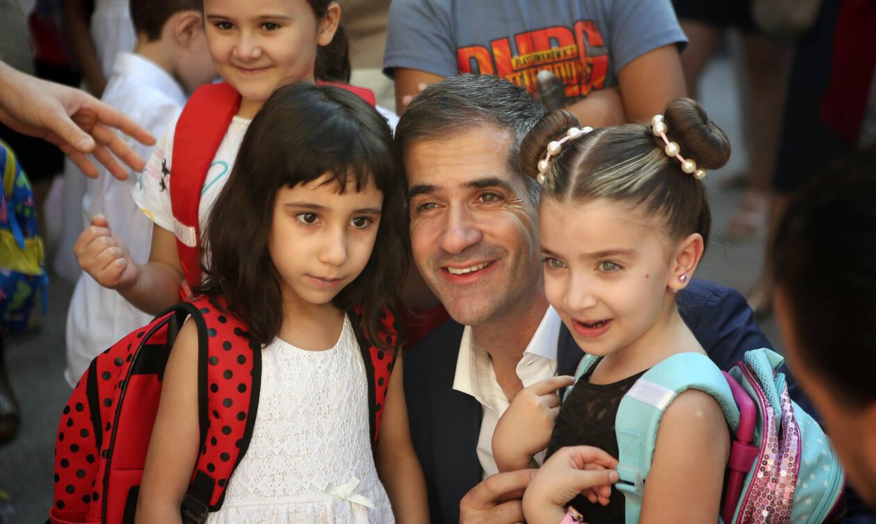 Μπακογιάννης: Να δώσουμε τη μάχη για να έχουν όλα τα παιδιά ίδιες ευκαιρίες