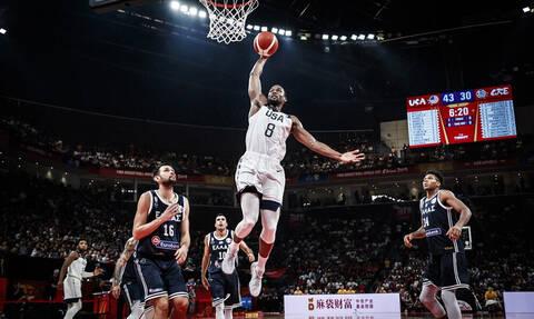 Μουντομπάσκετ 2019 LIVE: «Μάχη» ΗΠΑ-Γαλλία για μια θέση στους «4»