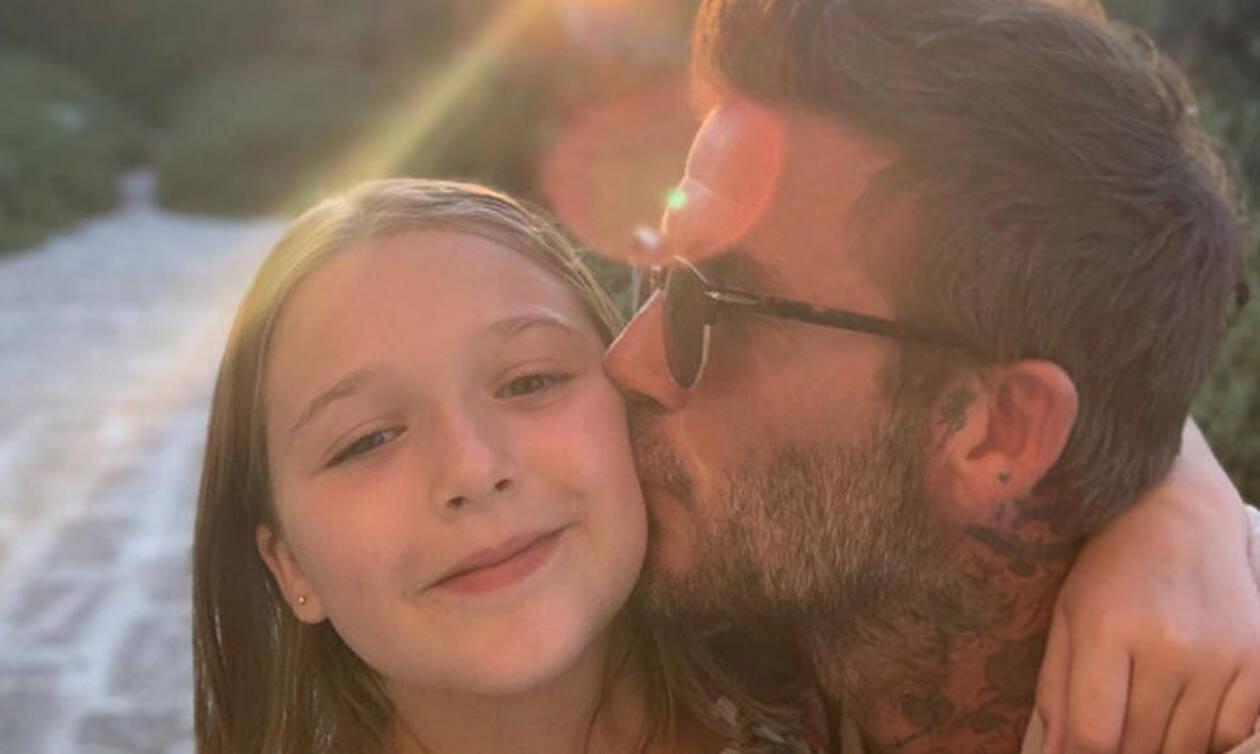 Γι' αυτό ο Μπέκαμ είναι καλός μπαμπάς – Δείτε τι έκανε στην κόρη του (vid+pics)