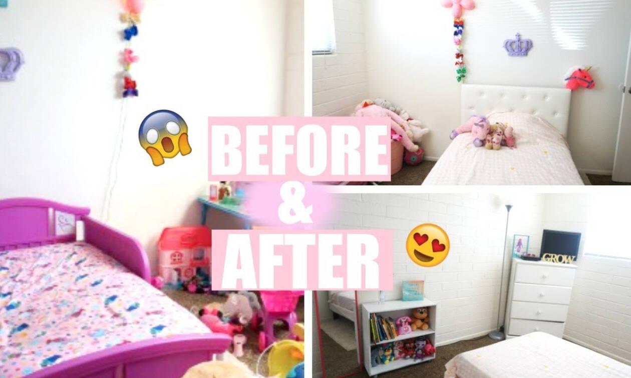 Ανανεώστε το παιδικό δωμάτιο με μικρές αλλαγές που κάνουν τη διαφορά (vid)