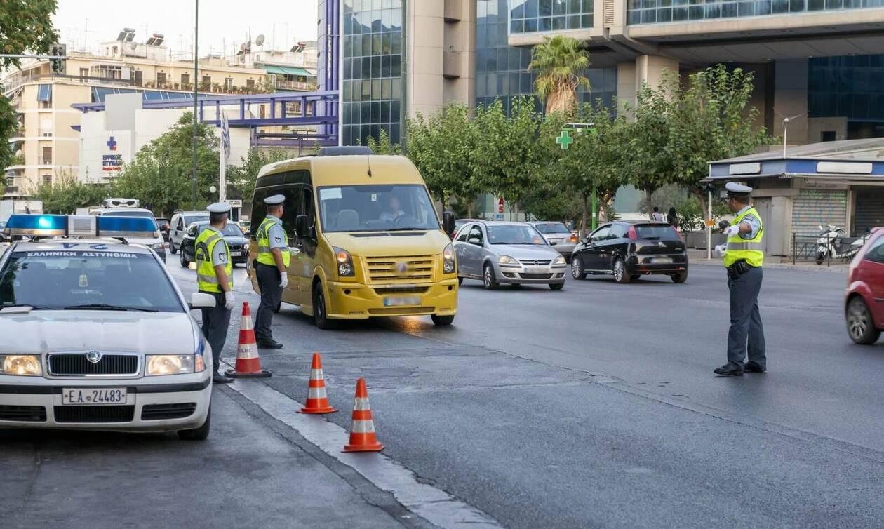 Σχολικά λεωφορεία: Το πρώτο κουδούνι έφερε και την πρώτη σύλληψη οδηγού (pics&vid)