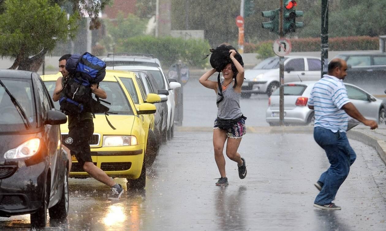 Καιρός: Φθινόπωρο από αύριο με καταιγίδες και ισχυρούς ανέμους – Πού θα εκδηλωθούν τα φαινόμενα