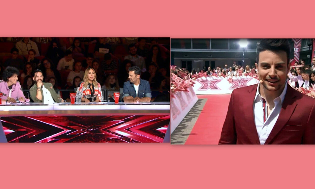 X-Factor: Η πρεμιέρα, η ανατρεπτική είσοδος των κριτών και ο κούκλος Άρης Μακρής (Video)
