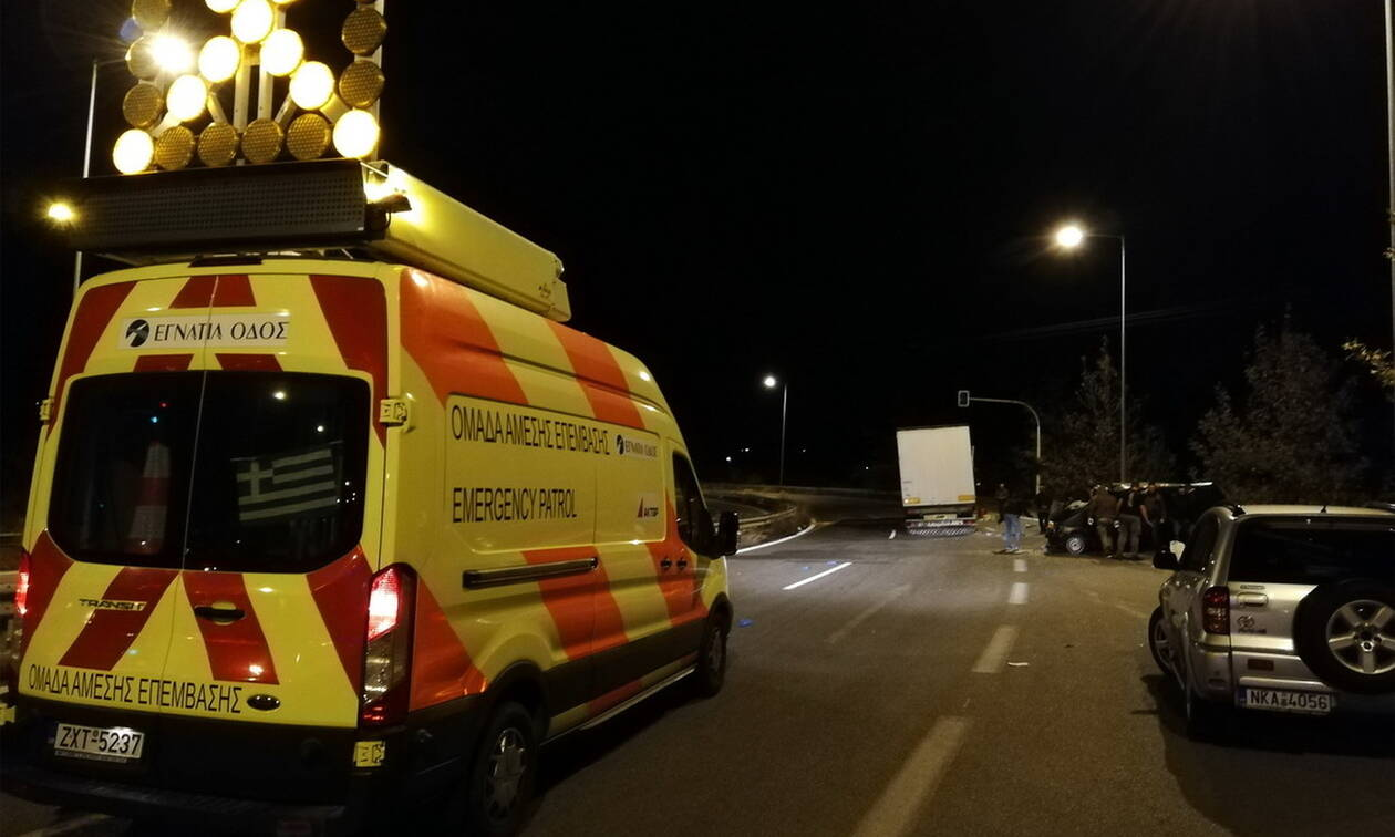Κομοτηνή: Ένας νεκρός και οκτώ τραυματίες σε τροχαίο με μετανάστες στην Εγνατία Οδό (vid)