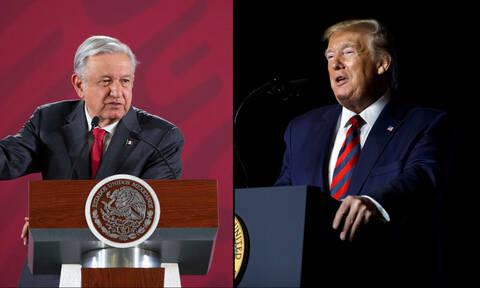 Τηλεφωνική επικοινωνία Τραμπ - Ομπραδόρ για τη μετανάστευση και το εμπόριο