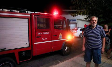 Φωτιά σε σουβλατζίδικο στο κέντρο της Αθήνας