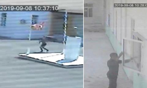 Грек-киприот сорвал турецкий флаг со здания школы на оккупированной части Кипра