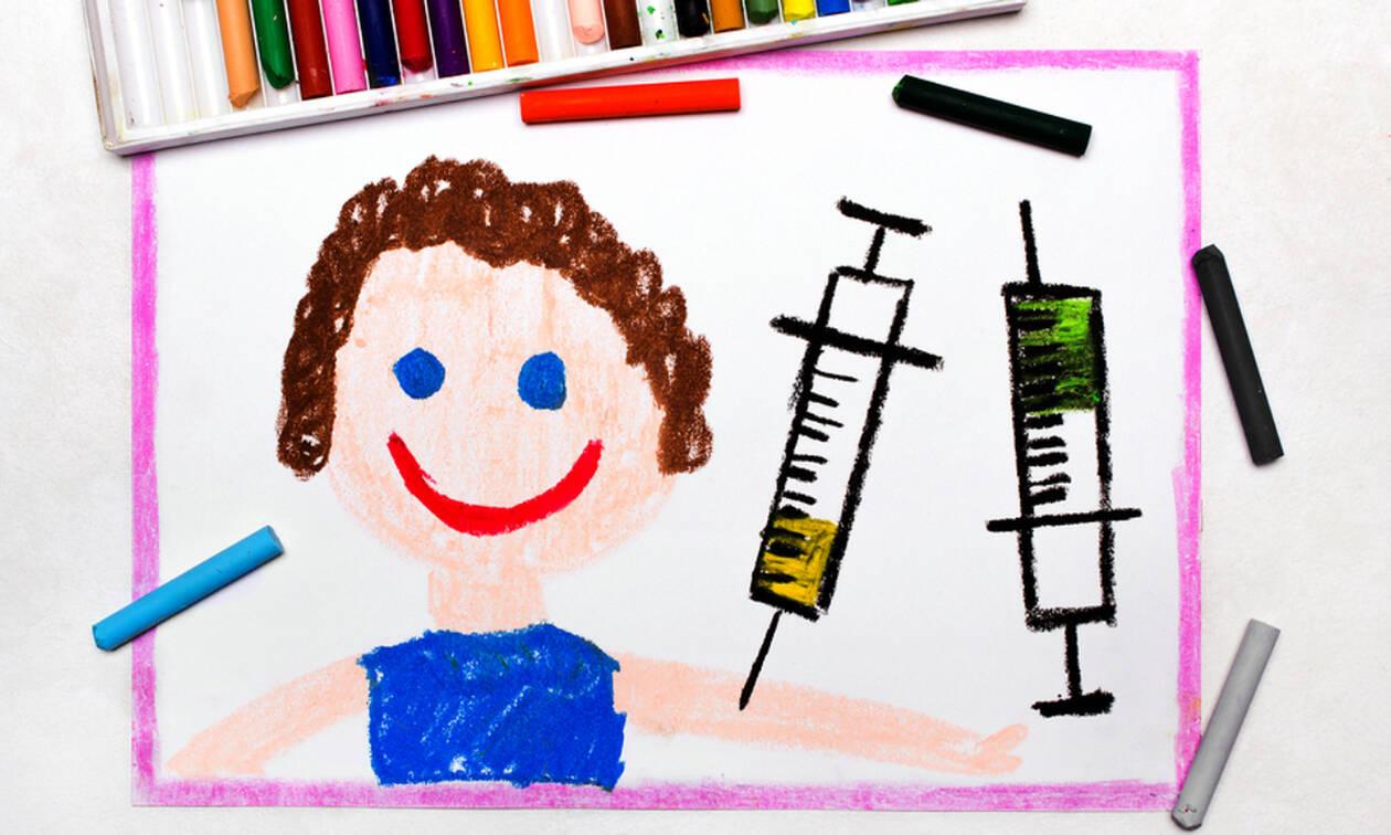 Όλα τα εμβόλια που πρέπει να κάνουν τα παιδιά και μέχρι ποια ηλικία (πίνακας)