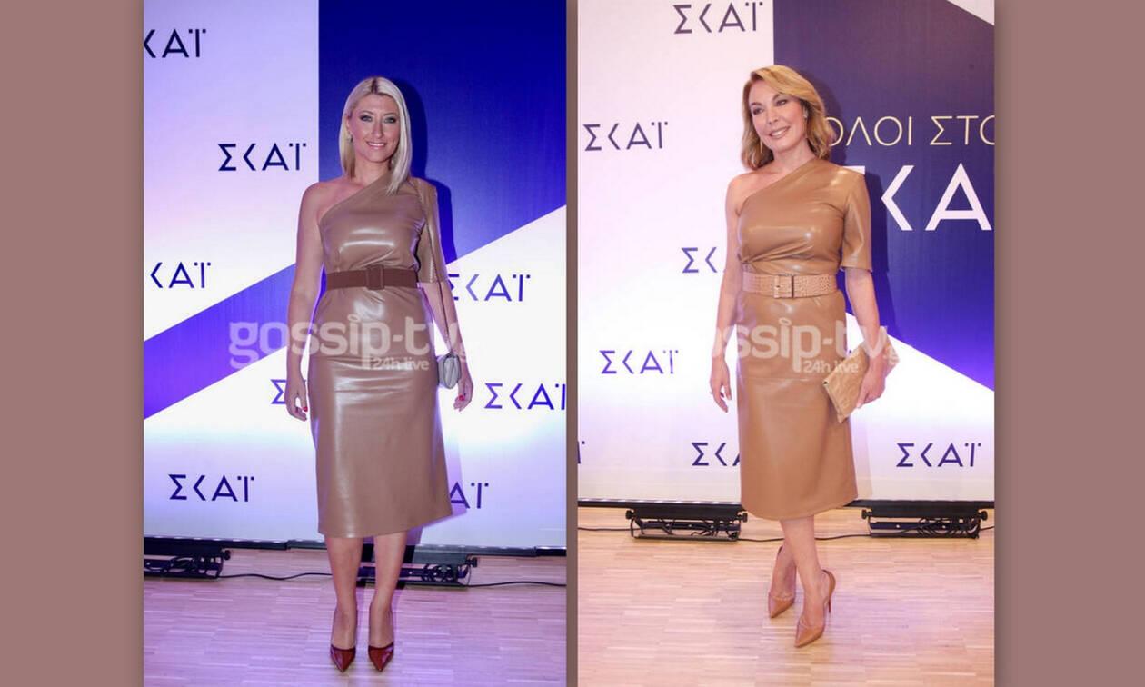 Μα τι έχει επιτέλους αυτό το φόρεμα; Κι άλλη κυρία της τηλεόρασης το έχει φορέσει (Photos)