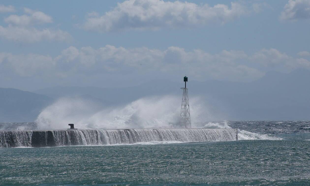 Καιρός: Με αρκετές βροχές η Παρασκευή - Οι άνεμοι θα φτάσουν τα 9 μποφόρ (pics)