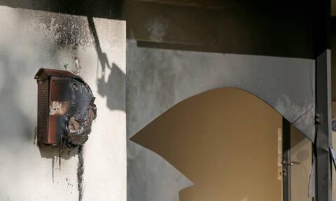 Επιτέθηκαν με μπογιές στα γραφεία της ΝΔ στο Νέο Ηράκλειο
