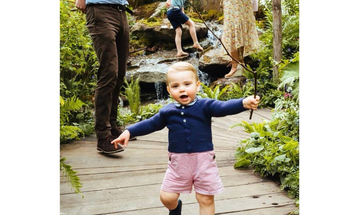 Το χόμπι του πρίγκιπα Louis είναι πολύ πιο απλό από αυτό που φαντάζεσαι