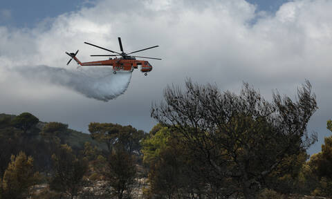 Φωτιά ΤΩΡΑ σε Χίο, Χανιά και Μαραθώνα