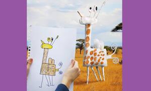 Όταν οι ζωγραφιές των παιδιών γίνονται πραγματικότητα - Οι φωτογραφίες που έγιναν viral (pics)