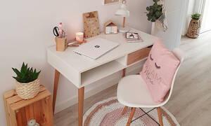 Παιδικά γραφεία για κορίτσια: Ιδέες για μικρούς και μεγάλους χώρους (pics)