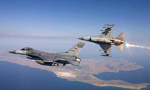 Νέες τουρκικές παραβιάσεις στο Αιγαίο με τρεις εικονικές αερομαχίες