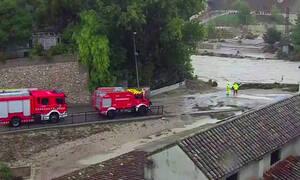 Καταρρακτώδεις βροχές πλήττουν την Ισπανία: Πέντε οι νεκροί - Εκατοντάδες άφησαν τα σπίτια τους