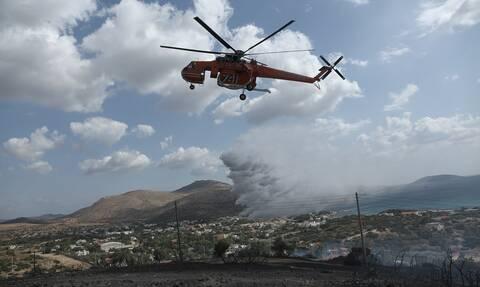 Πολύ υψηλός κίνδυνος πυρκαγιάς! Ο χάρτης πρόβλεψης κινδύνου για το Σάββατο (14/09)