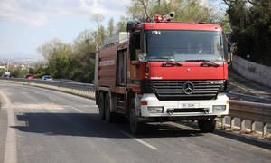 Φωτιά ΤΩΡΑ: Μεγάλη πυρκαγιά στην Κορινθία