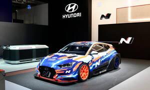 Το ηλεκτρικό Hyundai Veloster N ETCR είναι έτοιμο για μάχες (pics)