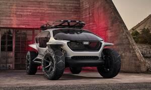 Audi AI:TRAIL: quattro πρωτότυπο, ηλεκτρικό και αυτόνομο, για άλλους πλανήτες!