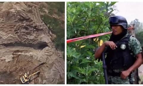 Φρίκη: Εντόπισαν σε πηγάδι δεκάδες πτώματα (pics)