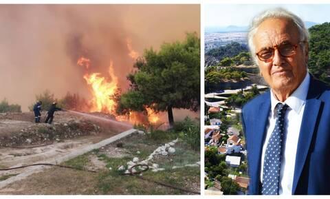 Φωτιά - Δήμαρχος Ζακύνθου στο Newsbomb.gr: «Η νύχτα θα είναι δύσκολη»
