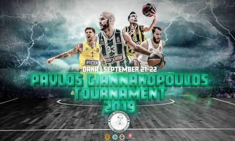 Παναθηναϊκός ΟΠΑΠ: Διαθέσιμα τα εισιτήρια για το 2ο «Τουρνουά Παύλος Γιαννακόπουλος»!