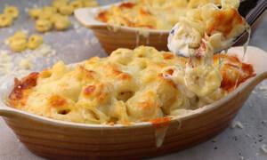 Συνταγή για πεντανόστιμα τορτελίνια φούρνου
