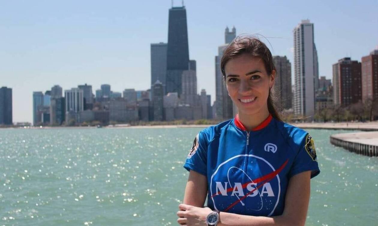 Ελένη Αντωνιάδου: Τι απαντά για τη συνεργασία της με τη NASA