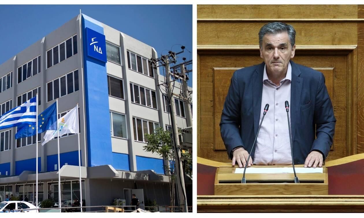 Στα «μαχαίρια» ΝΔ – Τσακαλώτος για τα «Syrizonomics» και τις αυξήσεις μισθών