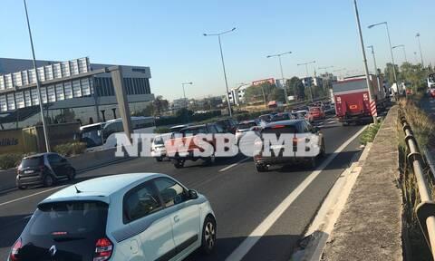 «Κόλαση» στην Αθηνών - Λαμίας - Ουρά χιλιομέτρων από ακινητοποιημένα αυτοκίνητα