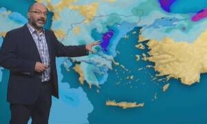 Καιρός: Ερχεται διήμερο κακοκαιρίας και... ψύχρας! Η προειδοποίηση του Σάκη Αρναούτογλου (video)