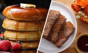 Πέντε γλυκές και αλμυρές συνταγές για πρωινό (vid)