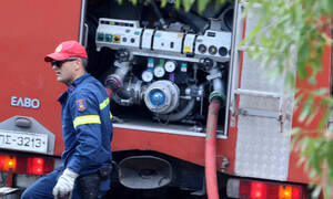 Παλλήνη: Αυτοκίνητο «τυλίχθηκε» στις φλόγες – Κλειστή η Λεωφόρος Μαραθώνος