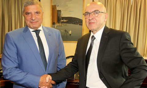 Συνάντηση του Περιφερειάρχη Αττικής με τον υφυπουργό Εξωτερικών