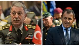Τηλεφώνημα Ακάρ στον Παναγιωτόπουλο – Τι συζήτησαν οι δύο υπουργοί Άμυνας