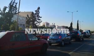 «Χάος« στους δρόμους της Αθήνας - Μποτιλιάρισμα παντού (pics)