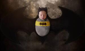 Μωρά ντυμένοι υπερήρωες - Εκπληκτικές φωτογραφίες  ( pics)