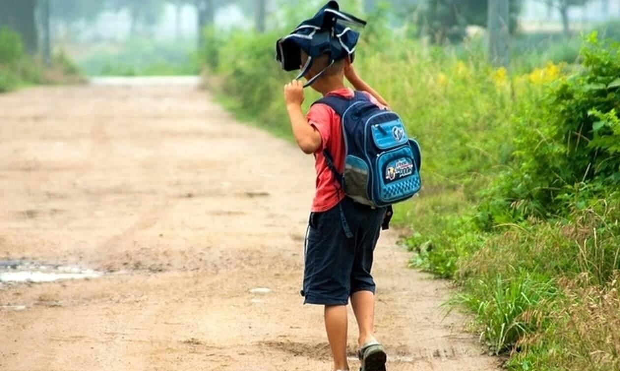 Δείτε τι έκανε ένα παιδί στη Χαλκίδα αντί να πηγαίνει σχολείο