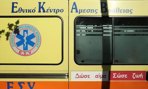 Ρέθυμνο: Σοβαρός τραυματισμός δικυκλιστή σε τροχαίο