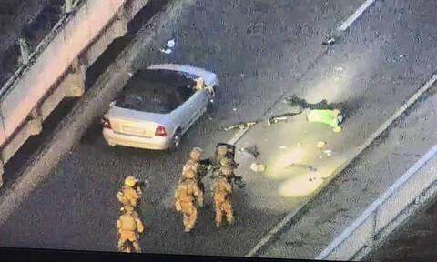 Κίεβο: Συνελήφθη ο ένοπλος που απειλούσε να ανατινάξει γέφυρα (pics+vids)
