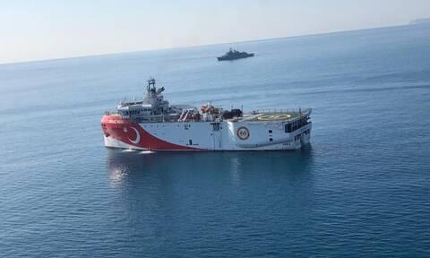 Νέα πρόκληση της Άγκυρας: Στην Ανατολική Μεσόγειο το «Ορουτς Ρέις» με την συνοδεία φρεγάτας