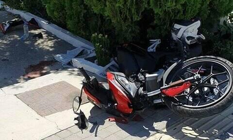 Ρέθυμνο: Σοβαρό τροχαίο με θύμα οδηγό μοτοσικλέτας (pics)