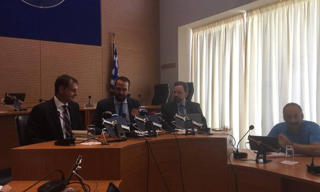 Συνάντηση του υπουργού Τουρισμού Χάρη Θεοχάρη με τον περιφερειάρχη Δ. Ελλάδας