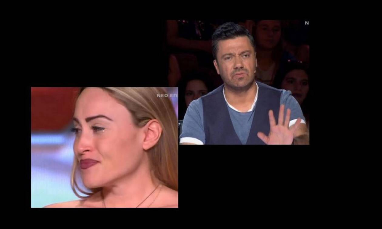X-Factor: Ξέσπασε σε κλάματα on stage με τα σχόλια του Θεοφάνους - Δεν το περίμενε με τίποτα