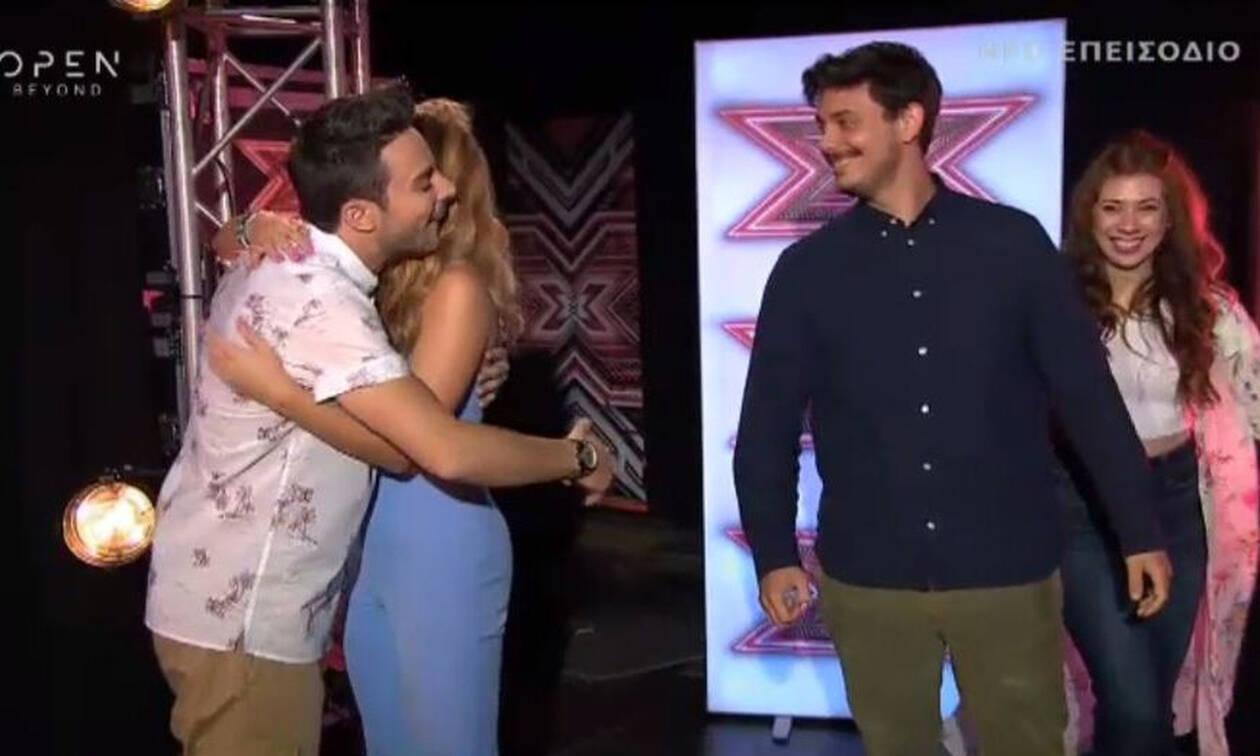 X-Factor: Ο απίστευτος ενθουσιασμός του Άρη Μακρή όταν είδε ποια πήγε στο ριάλιτι