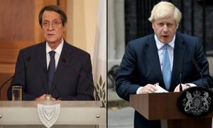 Επικοινωνία Αναστασιάδη με Τζόνσον: Στο επίκεντρο Κυπριακό, Brexit και τουρκικές προκλήσεις