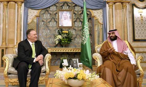 Πομπέο: Οι ΗΠΑ στηρίζουν τη Σαουδική Αραβία - Η συμπεριφορά του Ιράν «δεν θα γίνει ανεκτή»