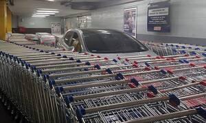 Δείτε την πιο έξυπνη τιμωρία για παράνομο παρκάρισμα σε super market
